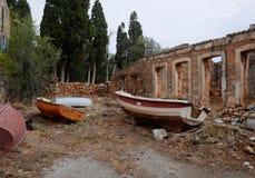 Barcos no queridos Imagen de archivo libre de regalías