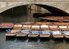 Barcos no rio imagem de stock royalty free