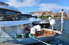 Barcos no rio Douro Imagem de Stock Royalty Free