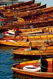 Barcos para o aluguer Imagem de Stock Royalty Free