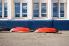 Barcos patrióticos Fotografía de archivo libre de regalías