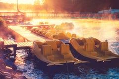 Barcos pequenos Imagem de Stock Royalty Free