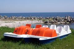 Barcos preparados para o cruzeiro Imagem de Stock