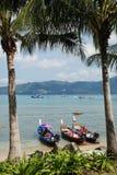 Barcos prontos para navegar Fotografia de Stock