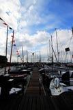 Barcos que estacionam em Markens fotografia de stock