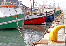 Barcos rastreadores de la pesca Fotografía de archivo