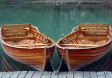 Barcos a remos foto de stock