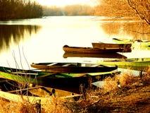 Barcos a remos Fotografia de Stock Royalty Free