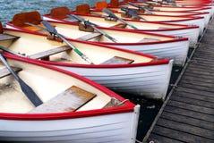 Barcos a remos Imagens de Stock Royalty Free