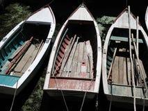 Barcos a remos Imagens de Stock