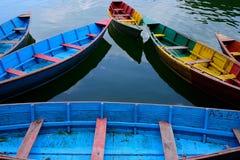 Barcos a remos vazios Foto de Stock Royalty Free