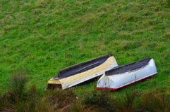Barcos revolvidos Imagem de Stock Royalty Free