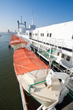 Barcos salva-vidas Fotografia de Stock Royalty Free