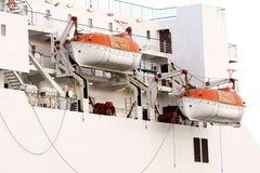 Barcos salva-vidas Fotos de Stock Royalty Free