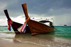 Barcos tailandeses Imagem de Stock Royalty Free