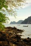 Barcos tailandeses Foto de Stock Royalty Free