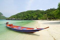 Barcos tradicionais do longtail Imagem de Stock