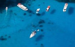 Barcos turísticos imagem de stock