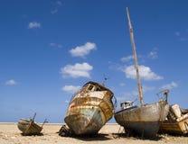 Barcos velhos imagens de stock royalty free