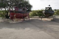 Barcos viejos dejados a la putrefacción fotografía de archivo libre de regalías