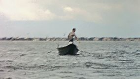 Barcos y transbordador de Venecia metrajes
