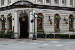 Bard & Bankier royalty-vrije stock fotografie