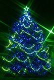 BARD Christmas lights Royalty Free Stock Photos