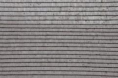 Bardeau en bois de toit Image libre de droits