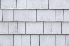 Bardeaux blanchis de cèdre image libre de droits