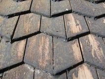 Bardeaux de toit Photographie stock libre de droits