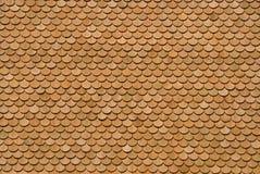 Bardeaux en bois Photographie stock libre de droits