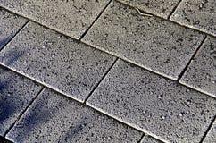 Bardeaux glacials de bitume Photo libre de droits