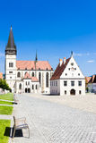Bardejov, Словакия Стоковое Изображение