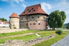 Fat Tower, old monumental building in Bardejov Royalty Free Stock Photography