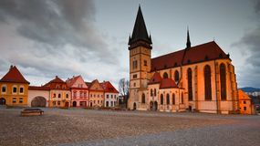 Bardejov, Slovakia. stock image