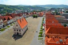 Bardejov, Slowakije royalty-vrije stock afbeelding