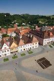 Bardejov - Unescostad Stock Foto