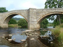 barden bron yorkshire Arkivbild