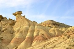 Bardenas Royalty Free Stock Photos