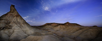 Bardenas desert (Spain) Stock Images