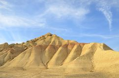Bardenas in Navarra Royalty Free Stock Image