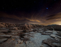 Bardenas night stock photos