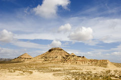 Bardenas Reales Royalty Free Stock Photography