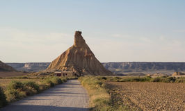 Bardenas Reales de Navarra Photos stock