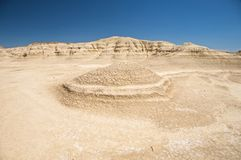 Bardenas reales desert Royalty Free Stock Images
