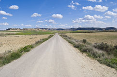 Bardenas Reales Desert, Navarra, Spain Stock Photos