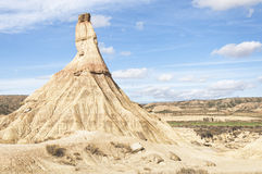 Bardenas Reales Natural Park, Navarre, Spain Royalty Free Stock Image