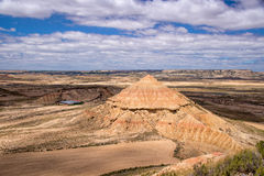Bardenas Reales nature park, Spain Royalty Free Stock Image