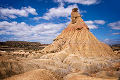 Bardenas Reales nature park, Spain Stock Image