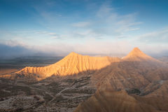 Bardenas reales, Navarra Royalty Free Stock Photos